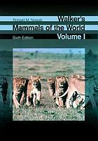 Walker's mammals of the world.