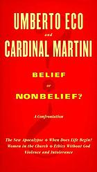 Belief or nonbelief? : a confrontation
