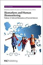 Biomarkers and human biomonitoring