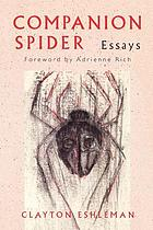 Companion spider : essays