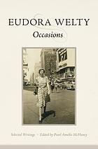 Occasions : selected writings