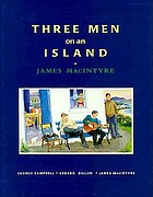 Three men on an island