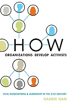 How organizations develop activists : civic associations and leadership in the 21st century