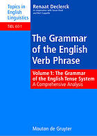 The Grammar of the English Verb Phrase : a Comprehensive Analysis.