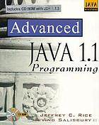 Advanced Java 1.1 programming