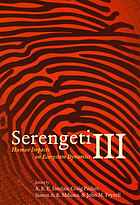 Serengeti III : human impacts on ecosystem dynamics
