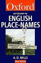 A dictionary of English place-names