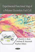 Experimental functional map of a polymer electrolyte fuel cell