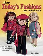 Sew today's fashions for 18-inch dolls