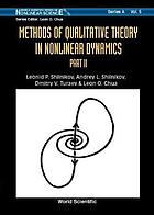 Methods of qualitative theory in nonlinear dynamics : part II