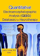 Quantitative electroencephalographic analysis (QEEG) databases for neurotherapy : description, validation, and application