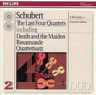 The last 4 quartets