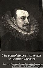 The complete poetical works of Edmund Spenser.