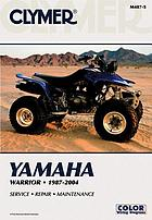 Clymer Yamaha Warrior, 1987-2004