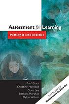 Assessment for learning : putting it into practice
