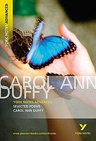 Poems of Carol Ann Duffy.