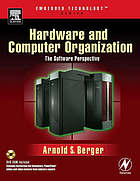 Hardware and computer organization : the software perspective