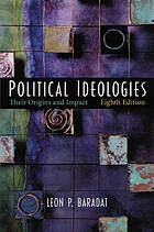 Political ideologies : their origins and impact