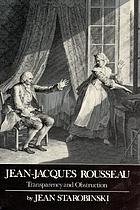 Jean-Jacques Rousseau, transparency and obstruction