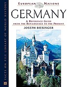 Germany : a reference guide from the Renaissance to the present