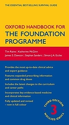 Oxford handbook for the Foundation Programme.