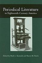 Periodical literature in eighteenth-century America