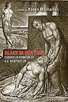 Blake in our time : essays in honour of G.E. Bentley Jr