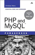 PHP and MySQL phrasebook