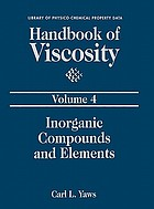 Handbook of viscosity