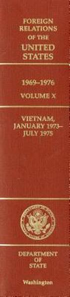 Vietnam, January 1973-July 1975
