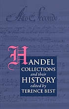 Handel collections and their history