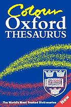 The color Oxford thesaurus