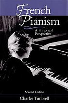 French pianism : a historical perspective