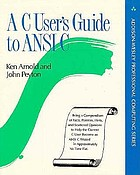 A C user's guide to ANSI C