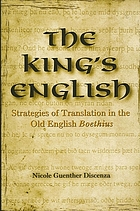 The King's English : strategies of translation in the Old English Boethius