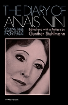 The Diary of Anaïs Nin. vol. 3, 1939-1944