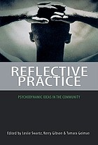 Reflective practice : psychodynamic ideas in the community