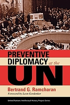 Preventive diplomacy at the UN