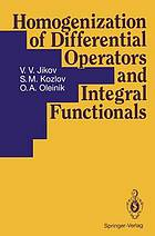 Homogenization of differential operators and integral functionals