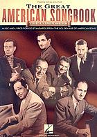 The great American songbook : the composers : piano, vocal, guitar.