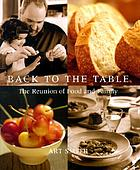 Back to the table : the reunion of food and family