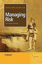 Managing risk : the human element