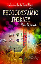 Photodynamic therapy : new research