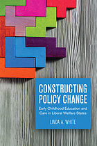 Constructing policy change : early childhood education and care in liberal welfare states