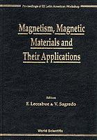 Magnetism, magnetic materials, and their applications : proceedings of III Latin American Workshop, Mérida, Venezuela, 20-24 November 1995