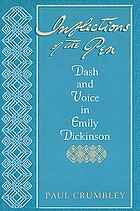 Inflections of the pen : dash and voice in Emily Dickinson