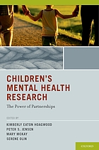 Children's mental health research : the power of partnerships