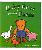 Baby bear goes to the farm