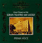 Great singers at the Gran Teatro del Liceo