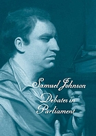 Debates in parliament : (the first of three volumes)